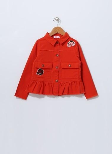 Pink&Orange Ceket Kırmızı